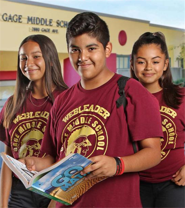Gage Middle School Homepage